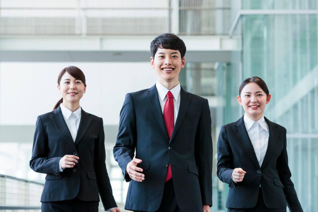 前向きな就職活動イメージ